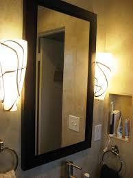 Recessed Bathroom Mirror Cabinets Bathroom Mirror Cabinet Plans Bathroom Surprising Storage Cabinet