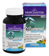 New Chapter - <b>Zyflamend Nighttime</b> - <b>60</b> Vegetarian Capsules - Buy ...