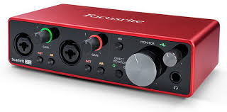 <b>Focusrite Scarlett 2i2</b> 3rd Gen – USB-<b>аудиоинтерфейс</b> серии ...