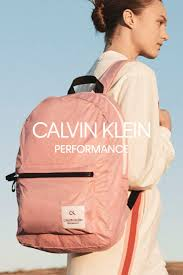 Meet our Spring 2019 CALVIN KLEIN <b>PERFORMANCE backpack</b> ...