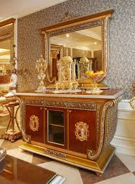 French Style Dining Room Furniture Luxury French Baroque Style Home Dining Room Sets Antique Golden