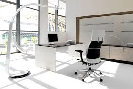 amazing office design ideas with awesome pure white color theme equipped terrific black wooden tabletops combining awesome colors interior office design ideas