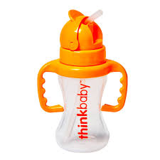 <b>Thinkbaby</b> Bottle - <b>Thinkster</b> - <b>Straw</b> - Orange - 9 oz - Walmart.com ...