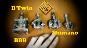 Контактные <b>педали</b> BBB, Shimano, <b>B'Twin</b>. Сравниваем, критикуем