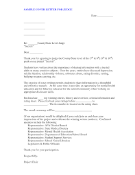 example letter to a judge best letter examples format of character letter to judge cover letter templates tbpuqacz