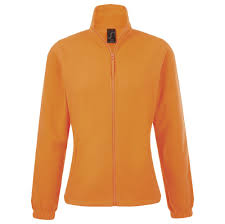<b>Куртка женская North Women</b>, оранжевый неон под нанесение ...
