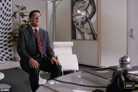 fresh rogers office at sterling cooper draper pryce showed mid 60s decorating of the art roger sterling office