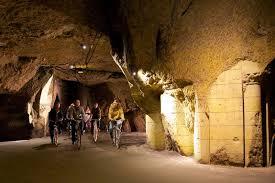 Bouvet Ladubay: visite des caves à vélo (Maine-et-Loire)