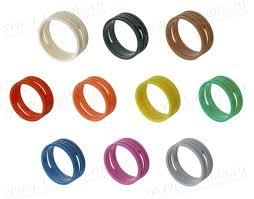 <b>XXR</b>-<b>1</b> - Цветное <b>маркировочное кольцо</b> для кабельных ...
