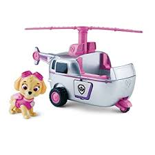 Buy <b>Paw</b> Patrol <b>Spin Master Nickelodeon</b> Skye S High Flying Copter ...