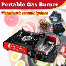 2900W Portable <b>Outdoor</b> Cooker Windproof <b>Gas Stove Burner</b> for ...