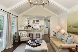 Paint For Open Living Room And Kitchen Modern Open Concept Kitchen And Living Room Bathroom Design