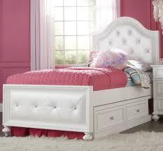 girls bedroom pristine white