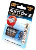 <b>Robiton</b> 1xKrona 250 mAh – купить <b>аккумулятор Крона</b>, сравнение ...