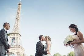 Amazing unique marriage ceremony under the Eiffel <b>Tower</b> in <b>Paris</b>