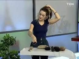 Валики для волос: советы парикмахера - YouTube
