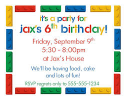 party invitation templates for kids