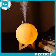 [Deble] <b>880mL Air Humidifier</b> 3D Moon Lamp Aroma Essential Oil ...