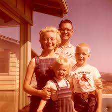 nuclear family the full wiki a man w and two children smiling outside of a house