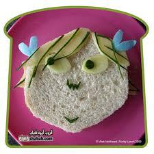 ساندوتشات روعة للاطفال ساندوتشات بالاشكال