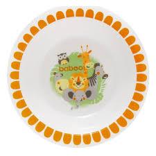 <b>Тарелка</b> глубокая <b>BABOO Safari</b>, 6 мес+, оранжевый — купить в ...