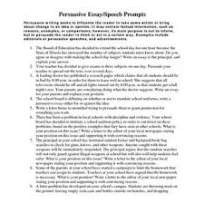 argumentative essay topics for high school students argumentative