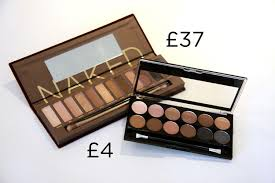 mua 12 shade undressed palette vs urban decay eyeshadow palette