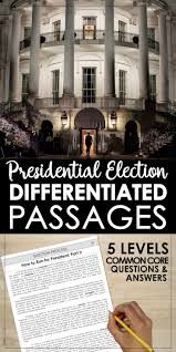 17 best ideas about electoral college votes the presidential election election day differentiated reading passage topics included → the electoral college