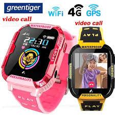 Greentiger <b>4G</b> Network <b>A36E</b> Wifi GPS SOS Smart Watch <b>Kids</b> Video ...