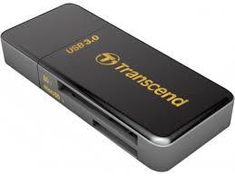 Купить <b>картридер Картридер</b> Transcend RDF5, SD/microSD, USB ...