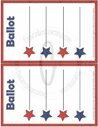 blank ballot template large images pinteres blank ballot template large images more