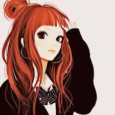 """Résultat de recherche d'images pour """"fille manga cheveux rouge mature tres belle"""""""