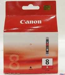 <b>Картридж Canon CLI</b>-8R (красный) Красный (<b>Red</b>) — купить в ...