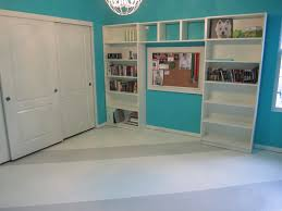 Concrete Floor Kitchen How To Paint A Concrete Floor Remodelaholic