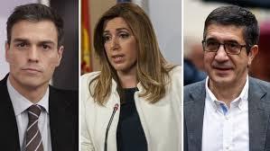 Resultado de imagen de Candidatos a primarias en PSOE 2017