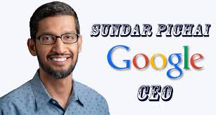 Image result for google and sundar pichai