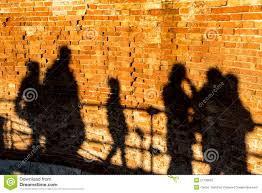 Image result for pictures of people casting shadows