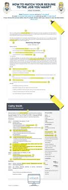best ideas about job posting job search cover how to tailor your resume to any job posting