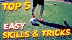 top 5 easy football skills tricks to learn for beginners