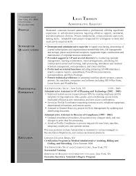 resume summary administrative assistant administrative resume summary administrative assistant executive