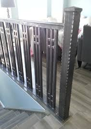 Custom Stair Railing Railings Windsor Ontario Sunset Metal Fab Inc