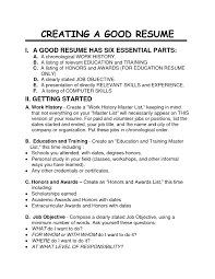 examples of resumes how to make a good resume for fresh 81 astounding good resume format examples of resumes