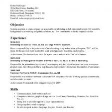 sample resume with internship experience resume examples sample resume internship experience advertising objective statement and examples of resumes for internships
