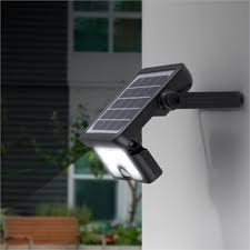 Arlec 5W Integrated <b>Solar Powered</b> Sensor <b>LED</b> Floodlight ...