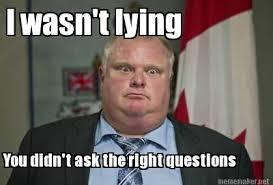 The best Rob Ford memes and tweets on the Internet | canada.com via Relatably.com