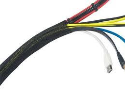 <b>Оплётка для укладки кабелей</b> в корпусе 2M Braided Cable Sleeve ...