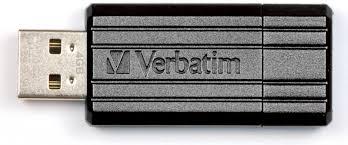 <b>Флеш Диск Verbatim 32Gb</b> PinStripe 49064 USB2.0 черный