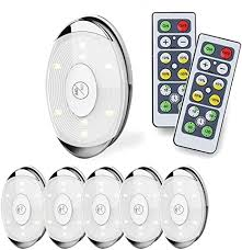 LED Puck Light, led Lights Battery Operated with ... - Amazon.com