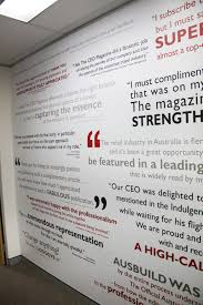 testimonial wall art amazing wall quotes office