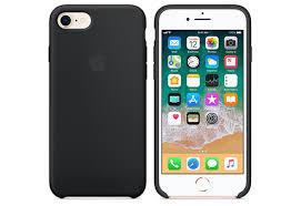 Купить <b>Чехол Apple Silicone</b> Case для iPhone 8/7 чёрный— цена ...